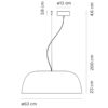 Marset-Djembé-65.23-Pendant-Light-Line-Drawing